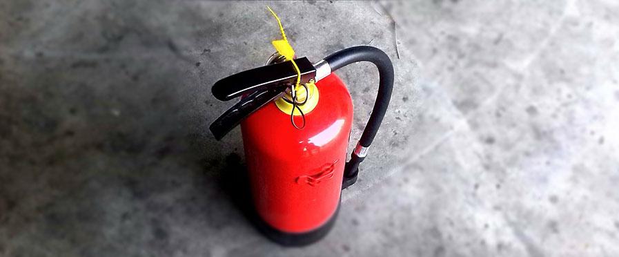 Välj rätt brandsläckare!